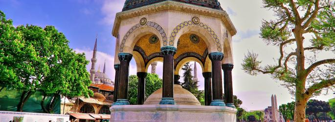 German Fountain - Sultanahmet Square_0