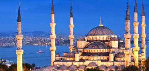 istanbul - mosque - ligt